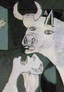Guernica (detail), Picasso